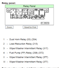 1999 vw passat relay diagram efcaviation com