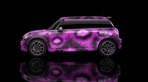pink mini cooper mini cooper side kiwi aerography car 2014 el tony