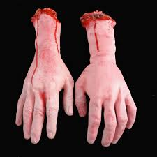 halloween horror props halloween horror props lifesize bloody hand haunted house party