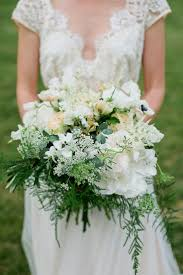 wedding flowers greenery ivory wedding ivory greenery bouquet 2141682 weddbook
