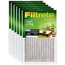 Filtrete Healthy Living Ultra Allergen Reduction Ac Furnace Air 12x20x1 3m Filtrete Dust And Pollen Filter 6 Pack Amazon Com