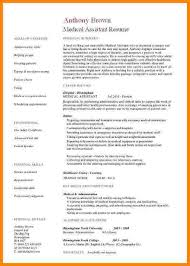 Sample Resume For Healthcare Assistant by Full Size Of Resumeexamples Of Medical Assistant Resume Bar Jobs
