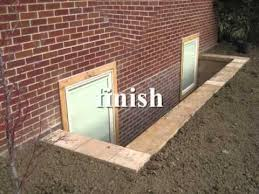 Basement Dig Out Cost by Egress Basement Window And Walkout Showroom Youtube