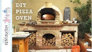 amazing diy pizza oven complete build youtube