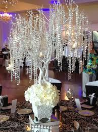 crystal wedding centerpiece ideas