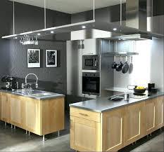 hotte cuisine suspendue hotte cuisine suspendue cuisine bois gris clair atagare suspendue au