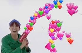 Heart Meme - bts reaction memes pt 1 army memes amino