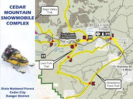 Google Map Utah by Dixie National Forest Maps U0026 Publications