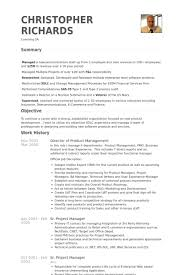 Pmo Cv Resume Sample by Director Of Product Management Resume Samples Visualcv Resume