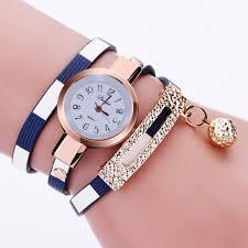 leather bracelet woman images Leather bracelet casual women luxury brand quartz watch relogio jpg