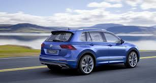 volkswagen tiguan 2017 black vw tiguan gte is a pre production plug in hybrid with 218ps