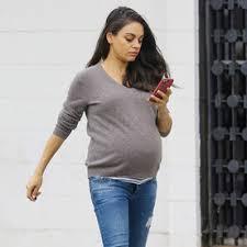 maternity style mila kunis s chic maternity style instyle