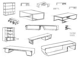 how to sketch furniture design 13291