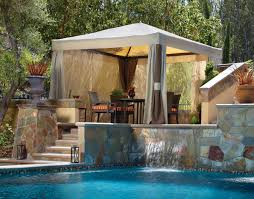 backyard cabanas gazebos home outdoor decoration