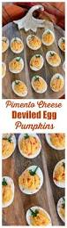 pimento cheese deviled egg u201cpumpkins u201d u2013 home is where the boat is