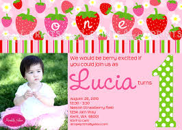 printable birthday invitations strawberry shortcake strawberry birthday photo printable invitation dimple prints shop