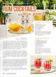 rum cocktails with a punch travel distilled