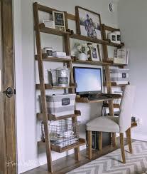 Leaning Shelf Bookcase Leaning Shelf Bookcase With Computer Desk Office Furniture Home