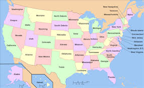 map of usa showing southern states fifth grade states and capitals songs