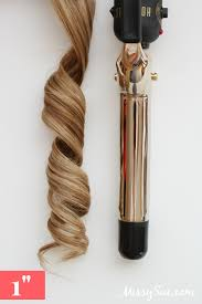 best size curling iron for medium length hair curling tool guide
