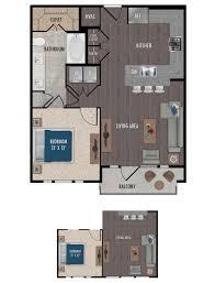 floor plan live live in the luxury floor plan you deserve alexan downtown