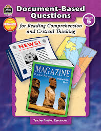 document based questions for reading comprehension and critical