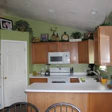 outstanding popular paint colors for kitchens with oak cabinets