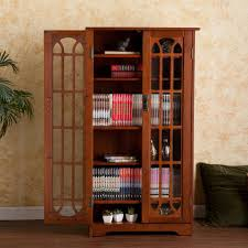 Media Cabinets With Glass Doors Window Pane Media Cabinet Oak Kitchen Dining