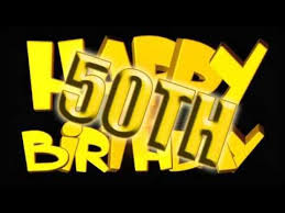 happy 50th birthday to you e card greetings youtube
