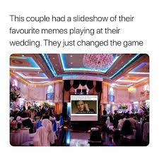 Purple Wedding Meme - dopl3r com memes this couple had a slideshow of their favourite