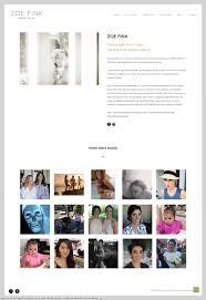 professional makeup artist websites zoe fink make up artist website ilka design