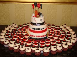 class reunions ideas hhs class of 91 20th reunion cake and cupcakes by www