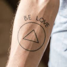 infinite l tattoo jason mraz inspired be love tattoo on rodrigo souza s