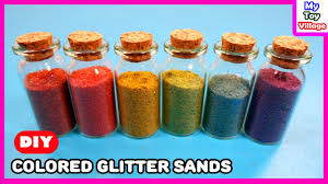 colored sand how to make colored sand with glitter and tempera paint learn