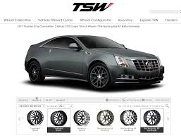 2008 cadillac cts tire size 2011 coupe color and tire size help
