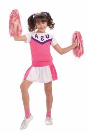 Cheerleader Costume Halloween Kids Girls Classic Cheerleader Costume 9 99 Costume Land