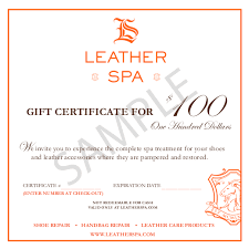 online gift certificates leather spa online gift certificates leather spa