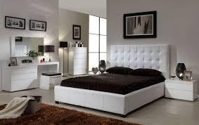 Bedroom  Appelaing Feminim White Bedroom Sets With White High - Tufted headboard bedroom sets