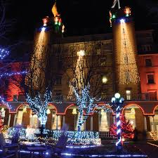 Christmas Lights Colorado Springs Glenwood Springs Colorado Christmas The Hotel Colorado