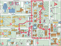 Map Of Ohio University by Miami University Campus Map My Blog