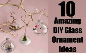 10 amazing diy glass ornament ideas diy home things