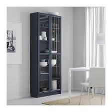 ikea bookcase with doors billy bookcase with glass doors dark blue ikea okebuy