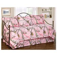 Daybed Comforter Set Delectably Yours Realtree Ap Pink Camo Daybed Bedding In 5 7 Or