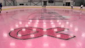 pink ice at the columbus ice rink youtube