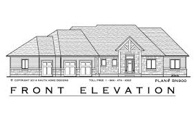 house plan builder 4 bedroom bungalow house plan bn900 2102 sq