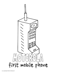 world history coloring pages printables motorola brick phone first