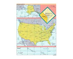 Usa And Mexico Map by Maps Of Usa Detailed Map Of United States Of America In English