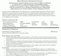 Program Manager Resume Objective Account Executive Resume Objective Resume For An Executive