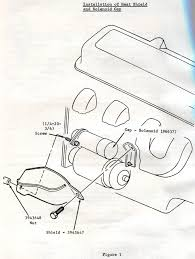 1968 corvette service bulletin heat damage to engine wiring