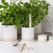 Kitchen Herb Pots by Duka Kitchen Life Our New Collection Designed By Karin Steen For